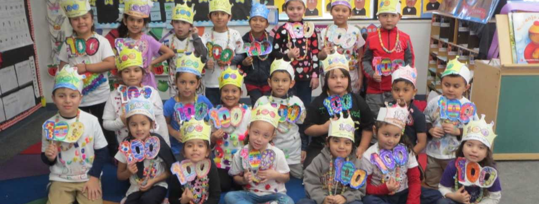 Kindergarten 100 days of school celebration