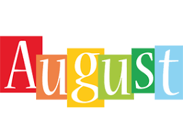 August Clipart