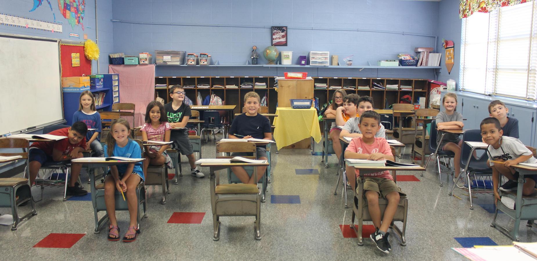 Belmont Elementary Students