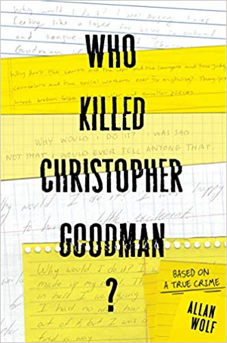 Book cover for Who Killed Christopher Goodman?