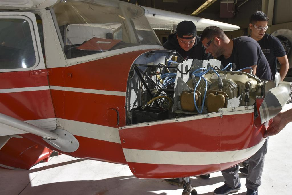 Airframe and Powerplant   Career Technical Education