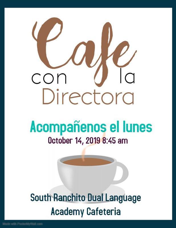 Cafe con la directora