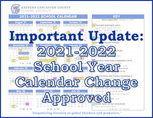 Important Update: Calendar Change Banner Image