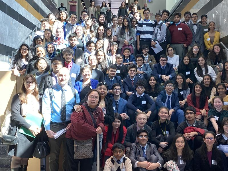 Science Fair Participants and Staff