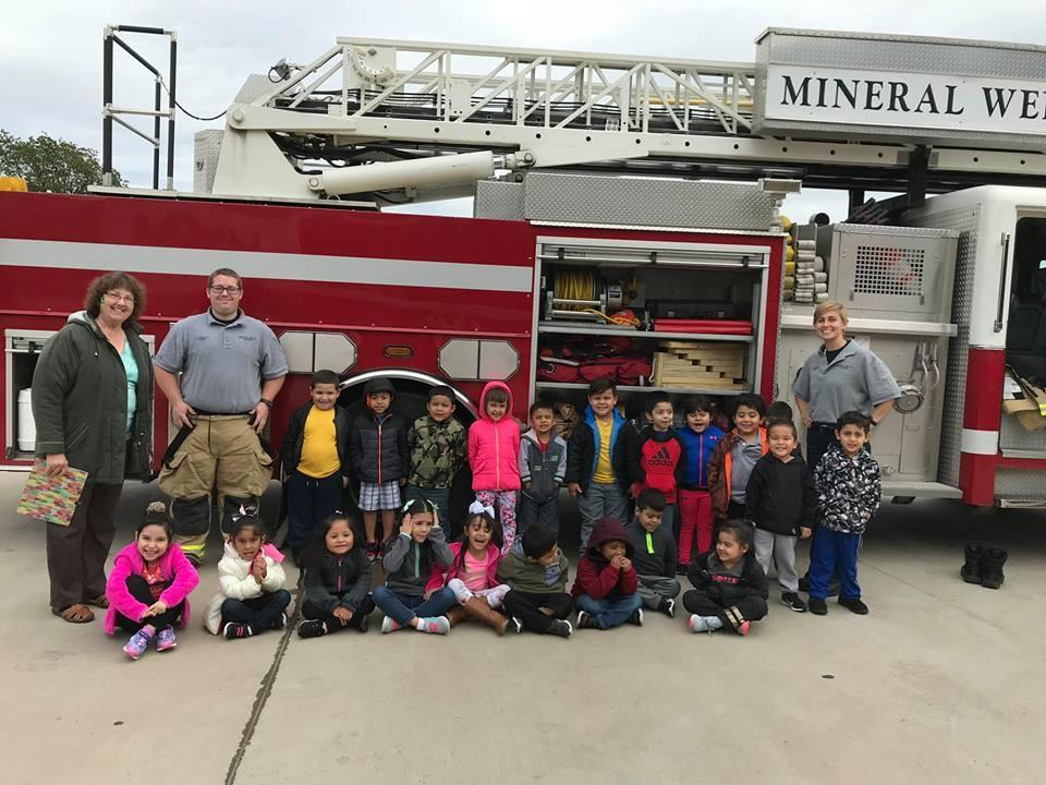 Fire EMS with Mrs. Browning's Class