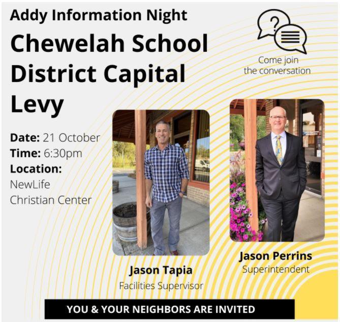 Addy Levy Information Night