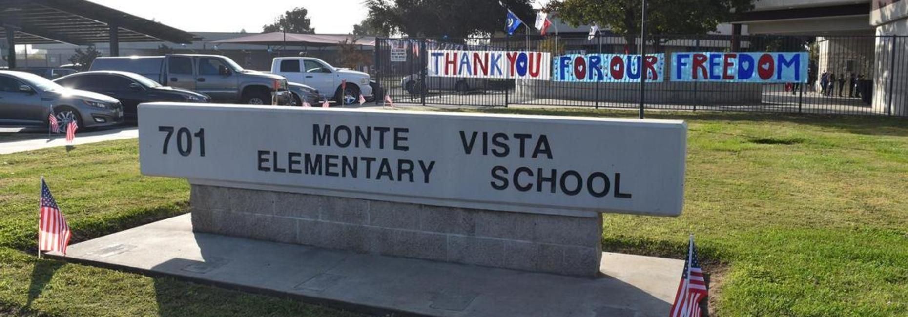 Monte Vista sign