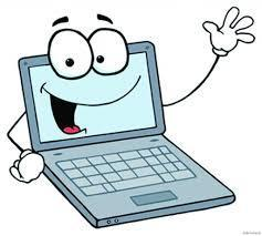 an image of a cartoon computer with a face and arms