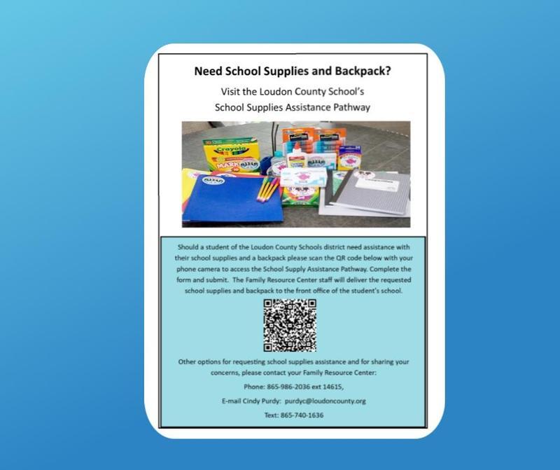 help with school supplies