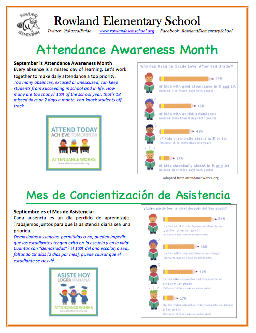 Attendance Awareness Month Featured Photo