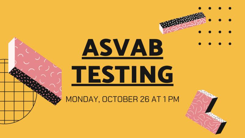 ASVAB Testing (10/26/2020) Featured Photo