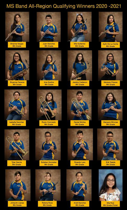 Middle school Band All Region Winners Thumbnail Image