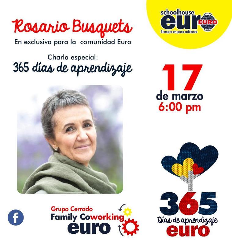 Rosario Busquets en exclusiva para la comunidad Euro... Featured Photo