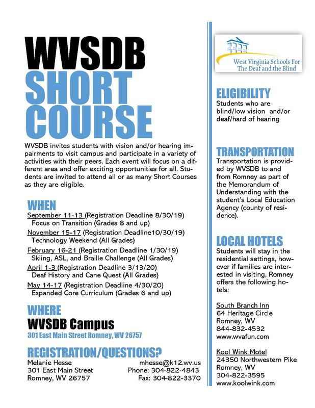 Photo of the Short Course Flyer. PDF is also available
