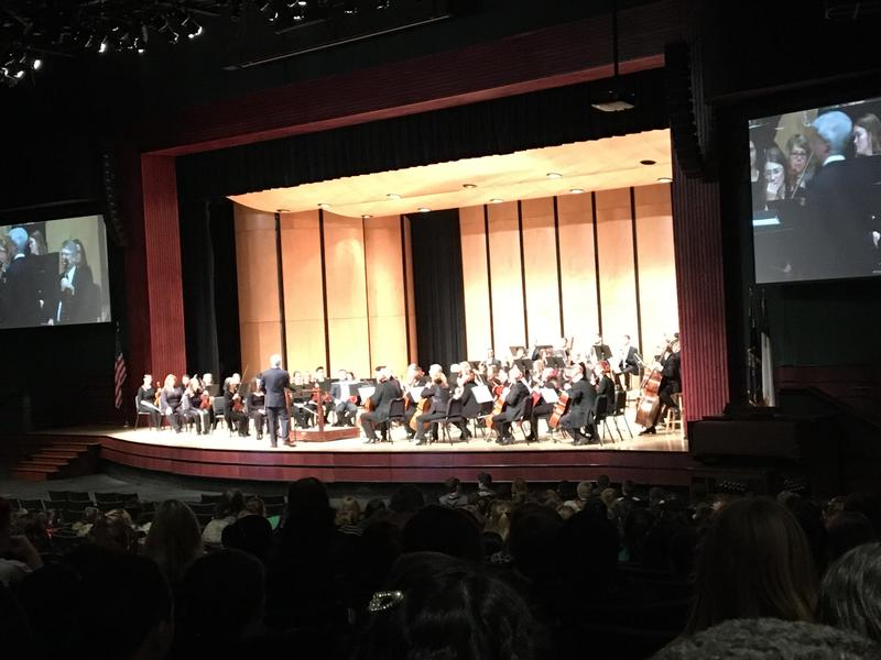 Our 3rd and 4th grade students had an amazing experience this morning attending the Philharmonic.