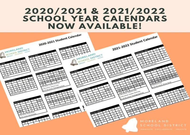 2020/2021 and 2021/2022 Student Calendars Available Thumbnail Image