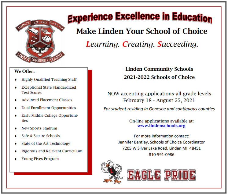 Flier for School of Choice