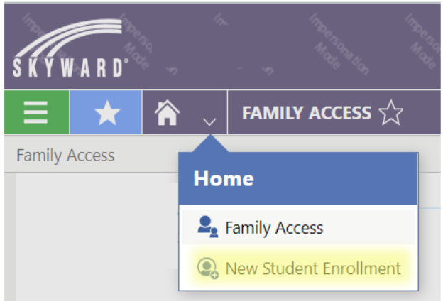 Current family Skyward login