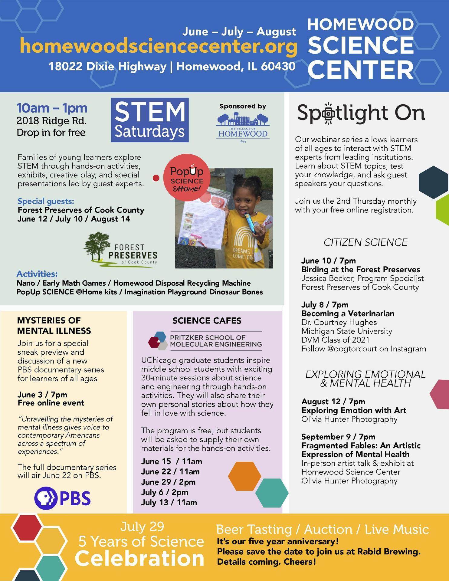 Homewood Science Center summer programs