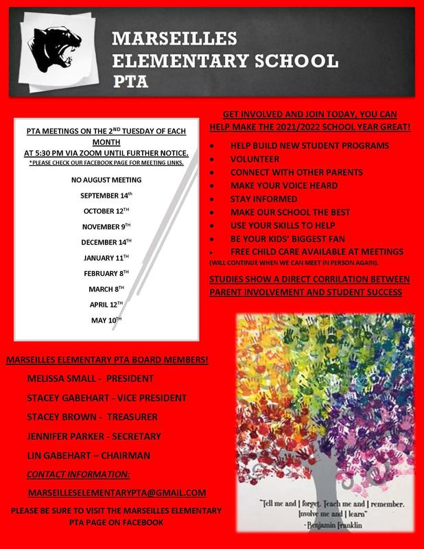 2021-22 PTA Meeting Dates Featured Photo