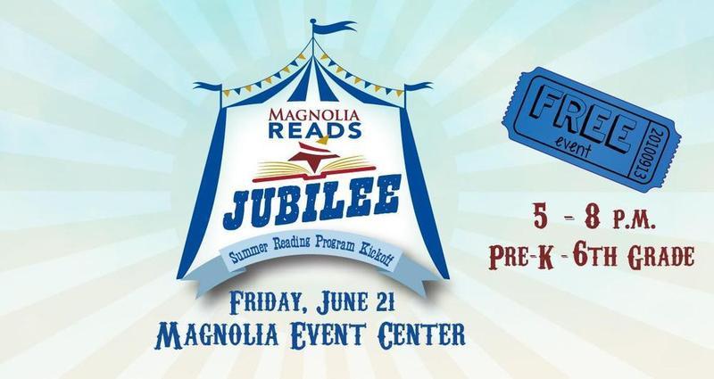Magnolia Reads Jubilee Logo