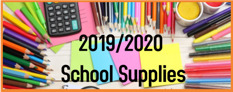 Elementary School Supply List Thumbnail Image