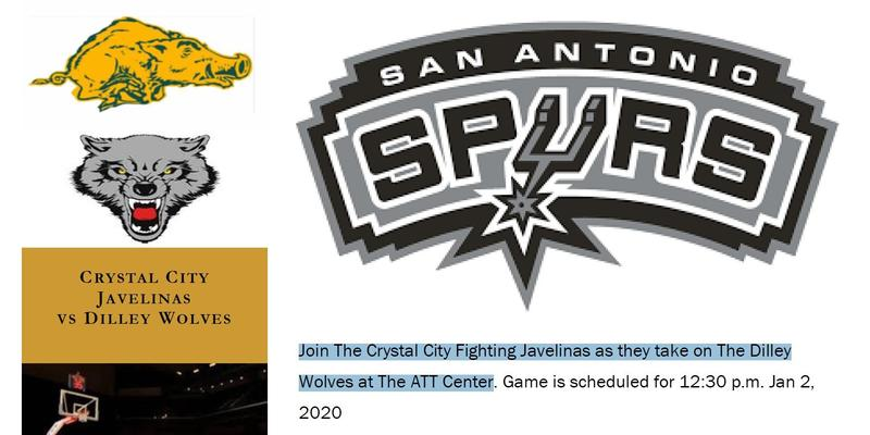Crystal City Javelinas they take on The Dilley Wolves at The ATT Center Featured Photo