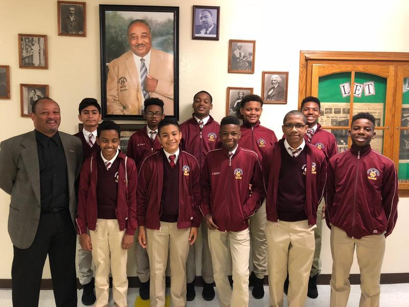 Operation Hope invites  ten 8th grade boys to visit Los Angeles, Mayor Garcetti Featured Photo
