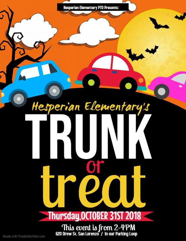 Join us for our Trunk or Treat event! Featured Photo