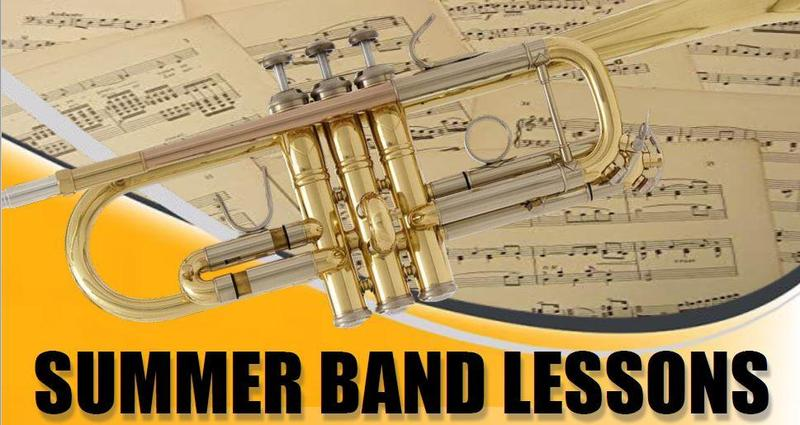 Summer Band Lessons Image