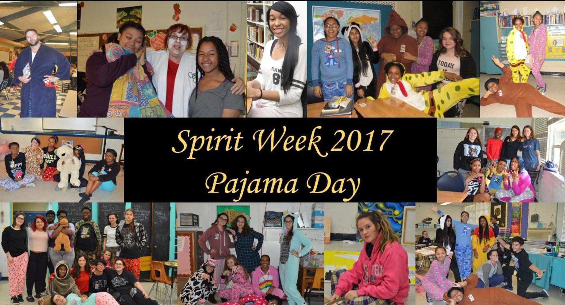 Spirit Week - PJs