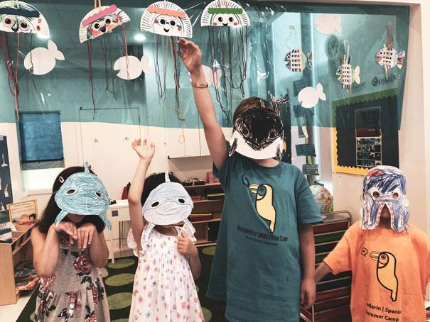 Summer at HWIS, Under the Sea