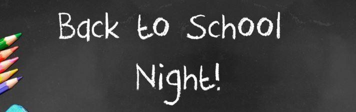 Virtual Back to School Night Videos Thumbnail Image