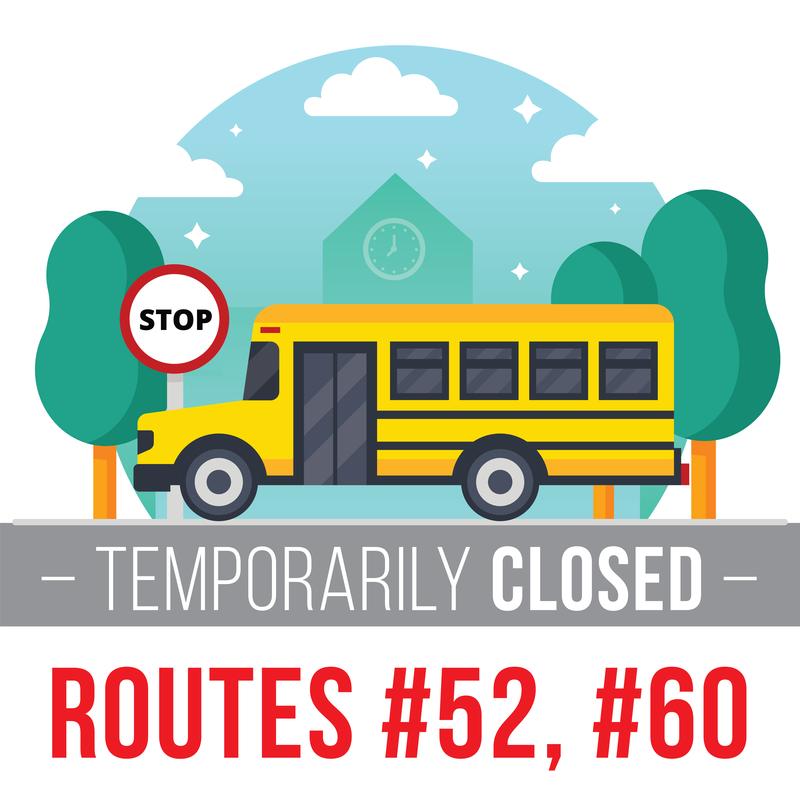 route closed