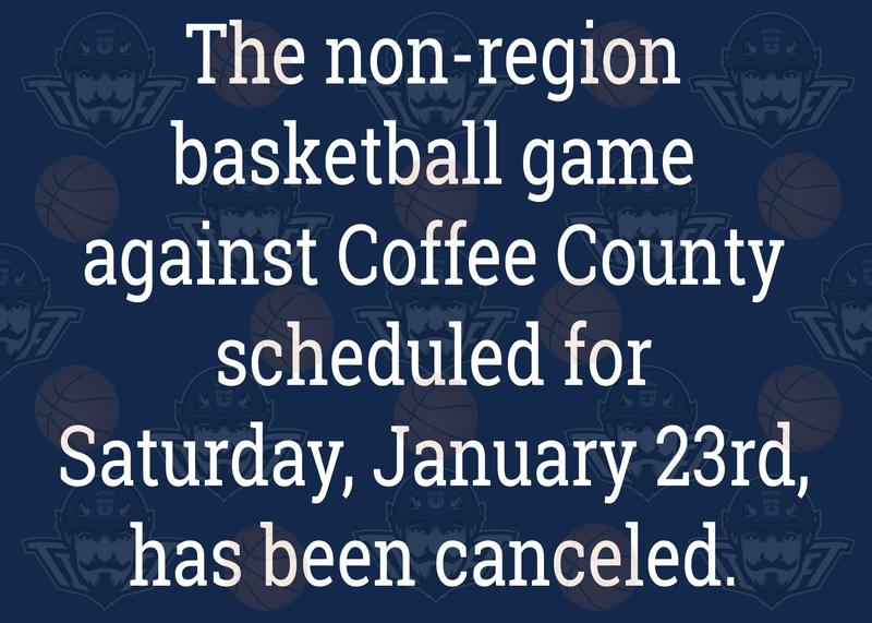Coffee County Basketball Game Canceled Featured Photo