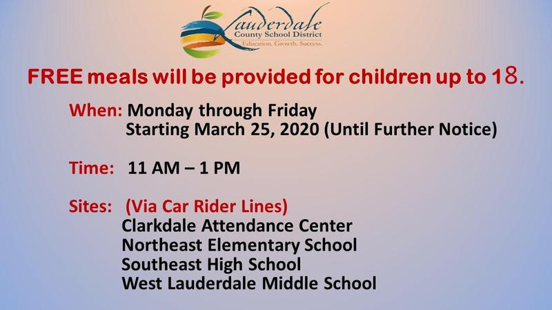 LCSD Grab & Go Meal Flyers