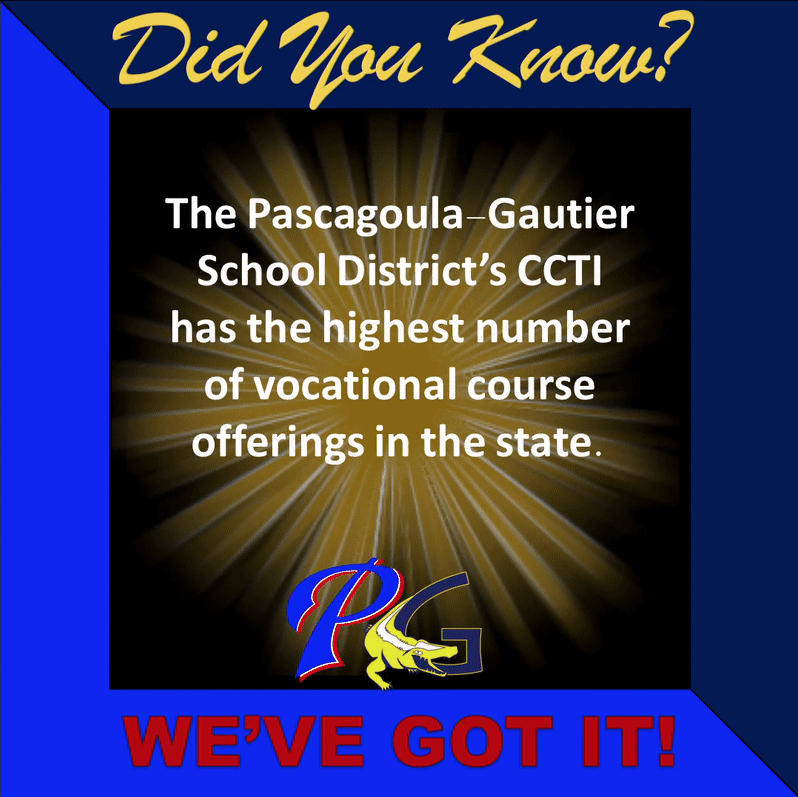 did you know that PGSD's CCTI has the highest number of vocational course offerings in the state.