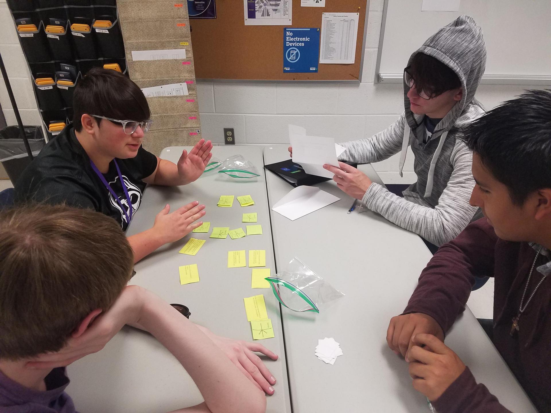 Tabor Rotation in Action at SHS Algebra