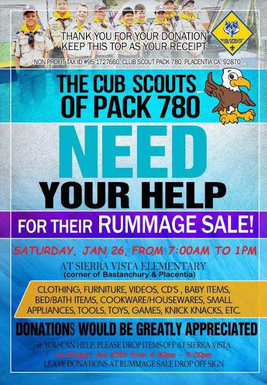 Rummage Sale Pack 780