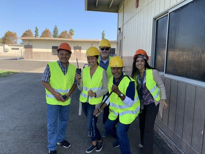Lincoln participated in the #GreatShakeout2019 Search & Rescue did an amazing job of taking care of us. #Proud2bepusd