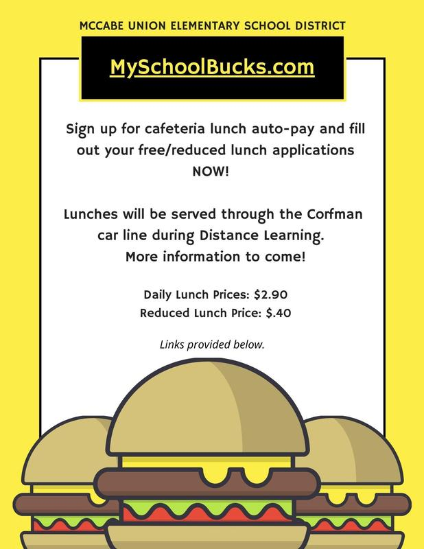 MySchoolBucks Auto-Pay & Free/Reduced Lunch Applications Thumbnail Image
