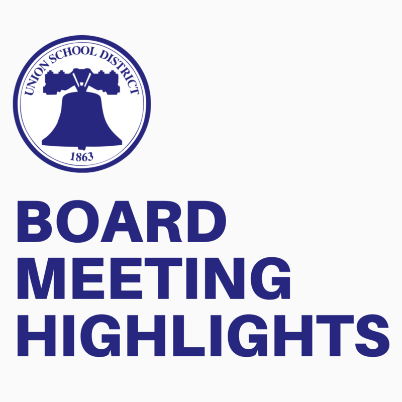 Board Meeting Highlights