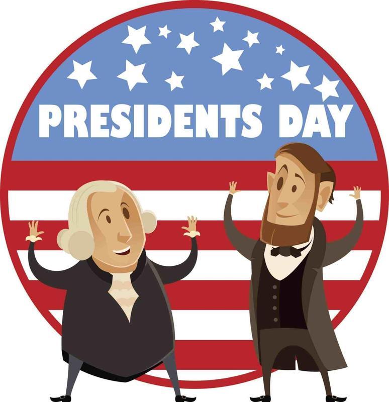 Presidents' Day on (M) 2/15/21! No On-Line Virtual Classes! Día de los Presidentes el (L) 2/15/21! No Habrá Clases Virtuales! Thumbnail Image
