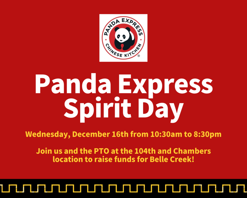 Panda Express Spirit Day