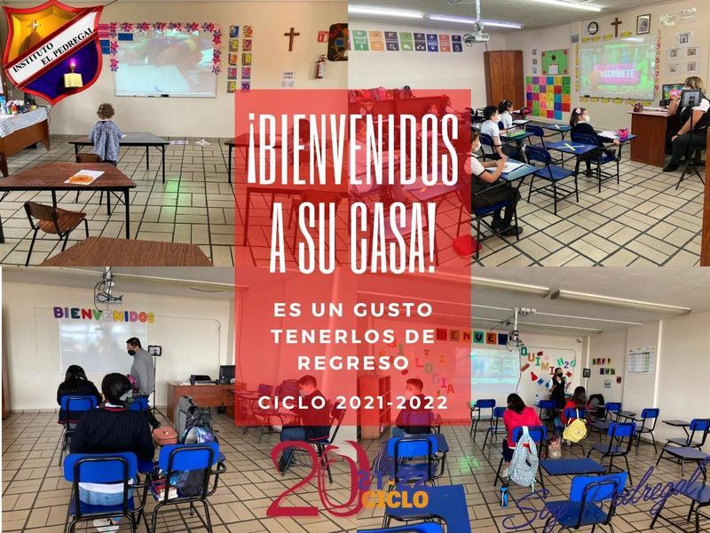BIENVENIDO CICLO 2021-2022 Featured Photo