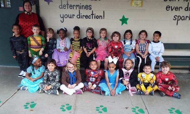 Ms. B's Class for Character Day