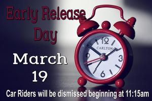 Early Release Day March 19