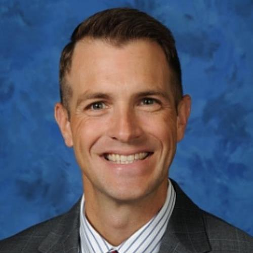 Portrait of Dr. Mike Metz, New Principal of TMHS
