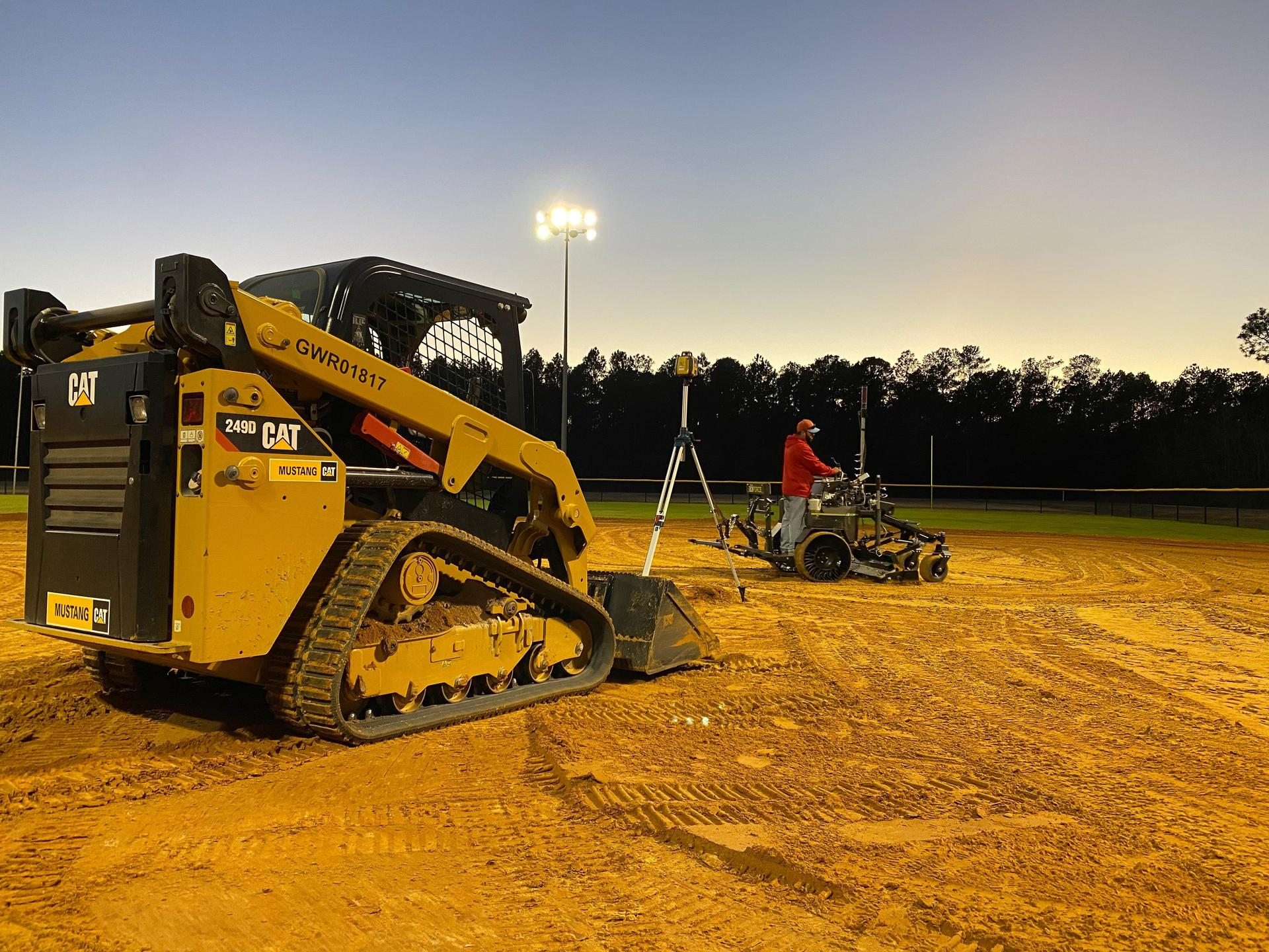Softball and Baseball Field Improvements