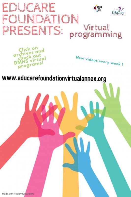 Educare Foundation Presents: Virtual Programming Featured Photo